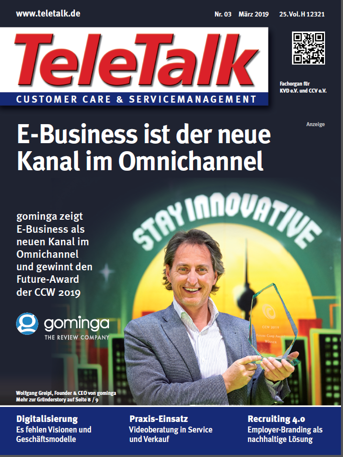 gominga on the front page of TeleTalk!