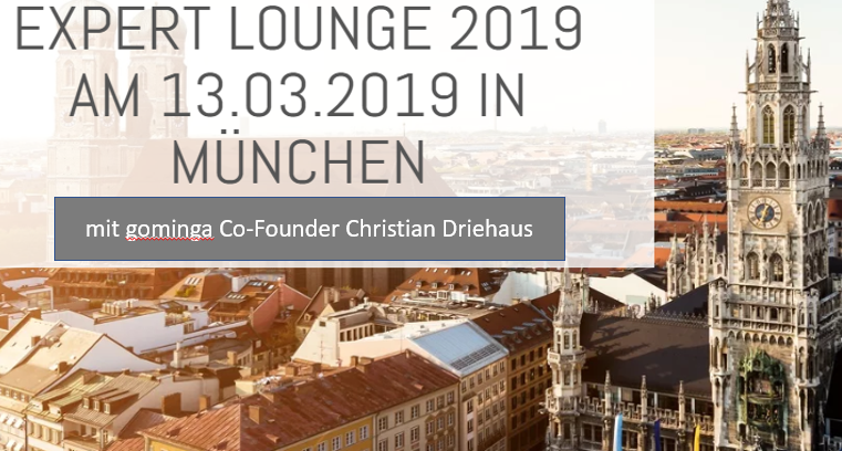 Christian Driehaus – speaker at the SHS Viveon Expert Lounge in Munich!