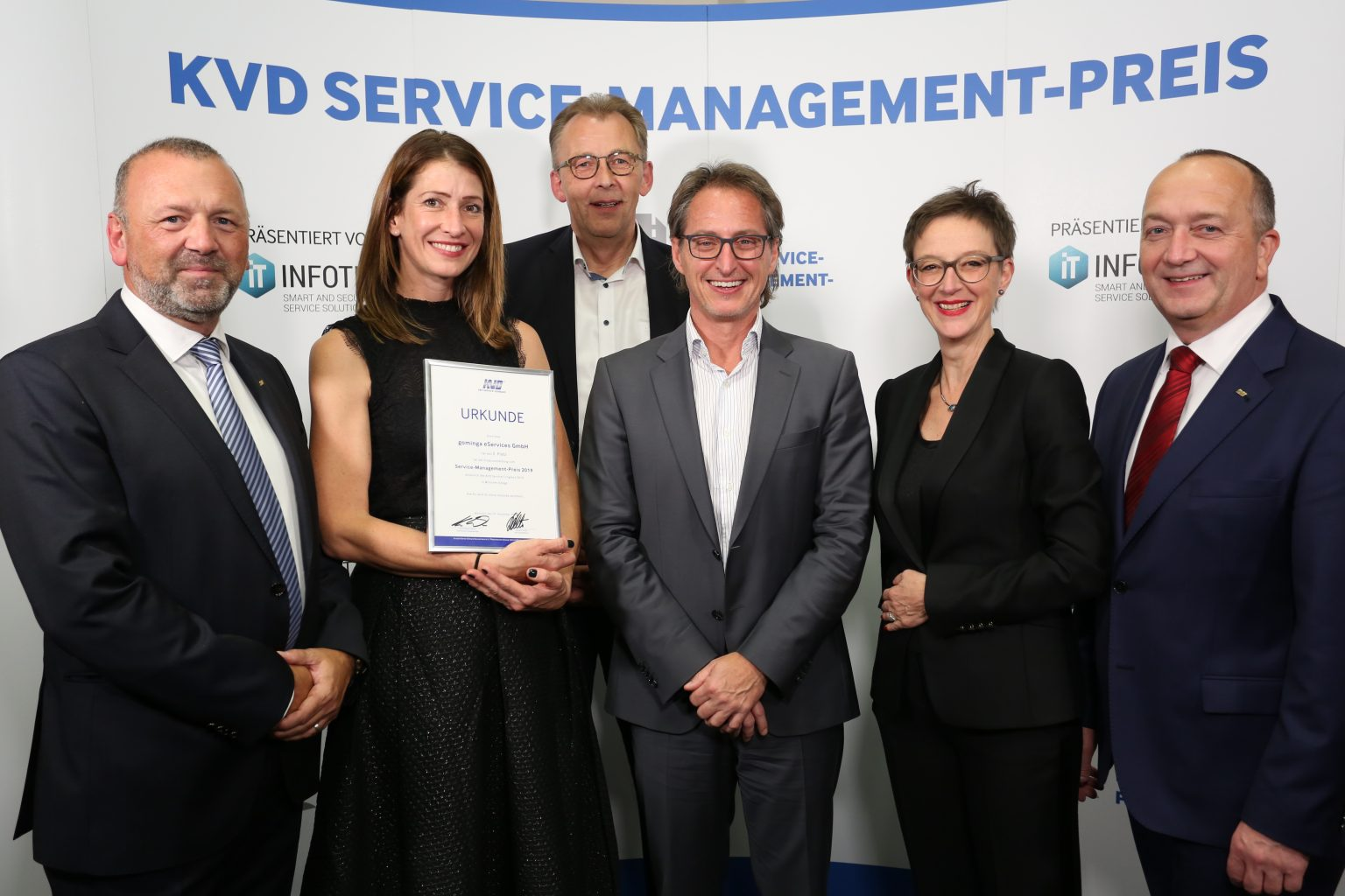 gominga – prize winner at the KVD Service Management Award 2019!